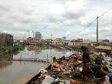 Sewage in Uganda (WaterAid/ Caroline Irby)